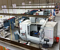 CNC Mill machine used for creating custom tools